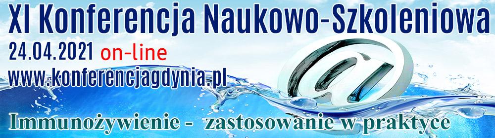 XI Konferencja Naukowo-Szkoleniowa 24.04.2021 on-line www.konferencjagdynia.pl Immunożywienie - zastosowanie wpraktyce
